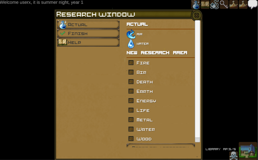 Research in V0.2c