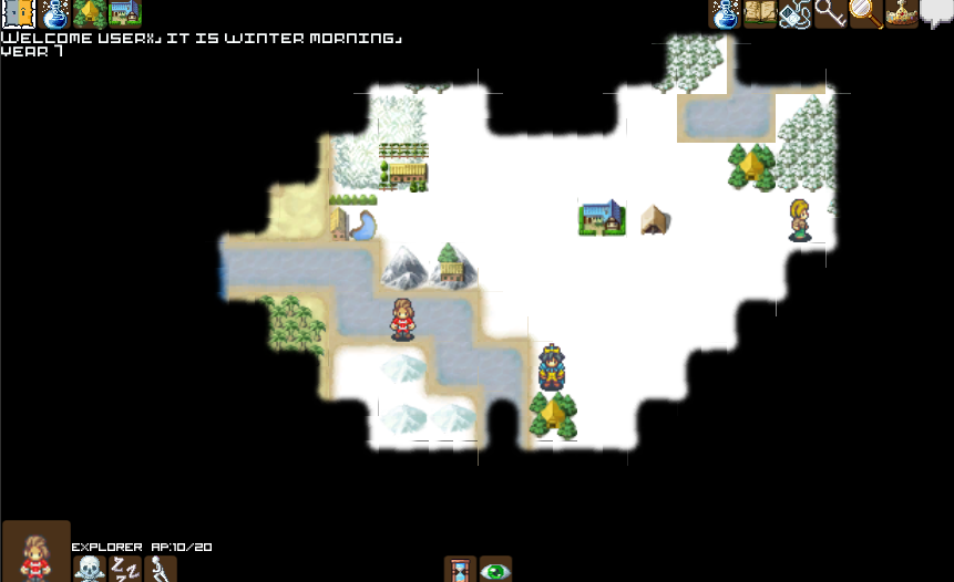 Snow map in V0.2e