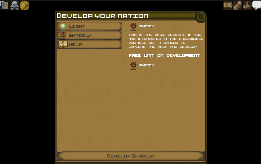 Develop your nation in V0.2
